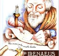 The cover of a little book that my friend Sinclair Ferguson wrote on Irenaeus