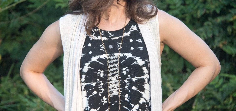 diy ladder necklace
