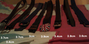 My belts