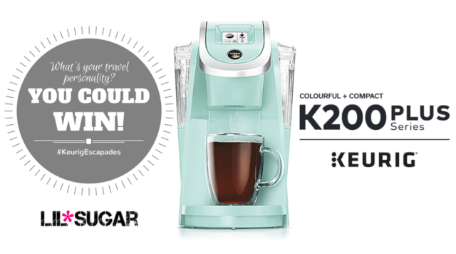 What Is Your Travel Personality? #KeurigEscapades Review & Giveaway!