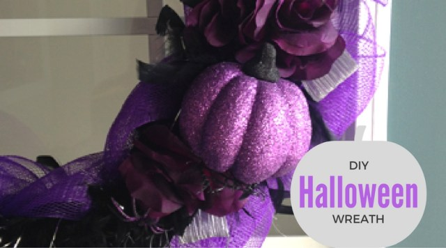 $10 Halloween Wreath DIY