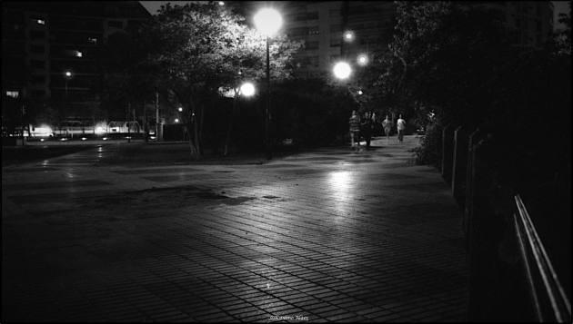 night-jogging