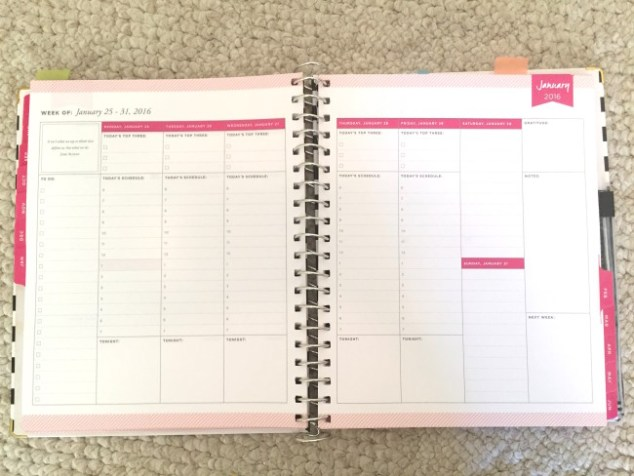 planner, planners, planner setup, week on two pages, day designer, work planner