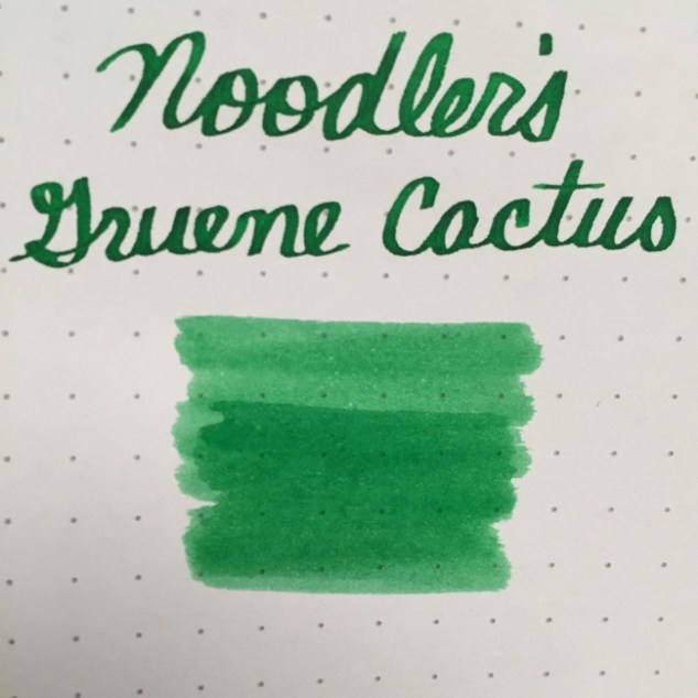 fountain pen, fountain pen inks, noodlers, noodlers gruene cactus, rhodia, dot grid, holiday, gift ideas