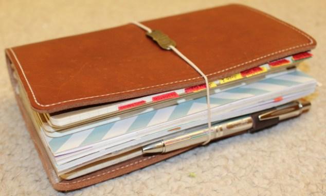 planner, travelers notebook, fauxdori, thefoxyfix