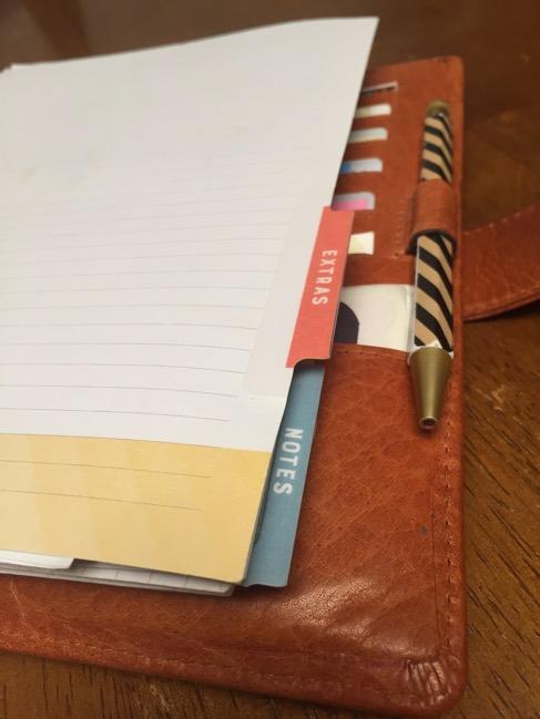 planner, binders, van der spek, vds, planner setup, inkwell press, tabs, calendar inserts