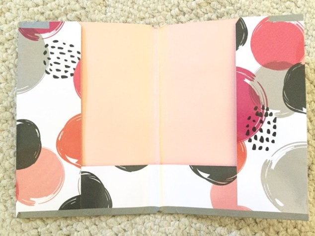 Planners, travelers notebook, bullet journal, one book July, Target Dollar Spot, DIY planner folder