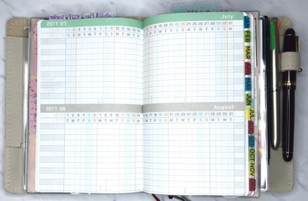 multiple planners, functional planning, planner setup, inkwell press, jibun techo