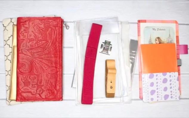travelers notebook, planners, travelers notebook accessories, travelers notebook hacks