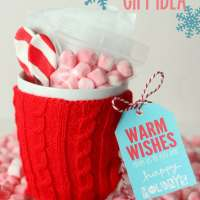 hot chocolate christmas gift sayings
