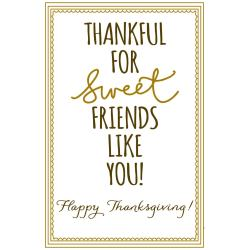 Dark Friends Print Cake Batter Snickerdoodles Happy Thanksgiving Friends Family Quotes Happy Thanksgiving Friends Thanksgiving Thankful Family S
