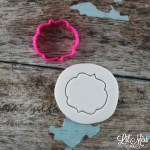 Julia Plaque Cutter | Lil Miss Cakes