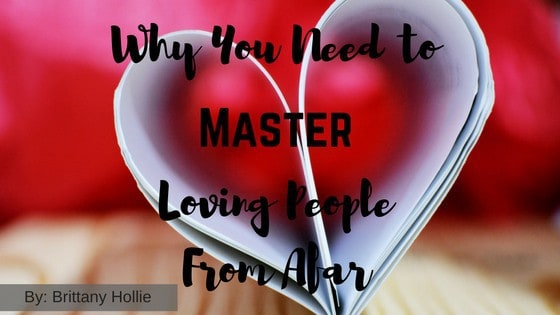 Why You Need to Master Loving People From Afar (Originally Posted on Blavity) -- If you've ever been deceived or hurt by someone you care(d) about this article is for you! -- lilsweetspiceadvice.com