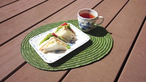 リリーのライダーズカフェ サンドイッチ