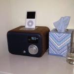 Wooden radio update: Vers versus Apple dock