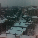 Another snowy morning
