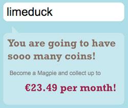 Magpie's estimate