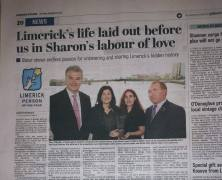 Limerick Person of the Month Award