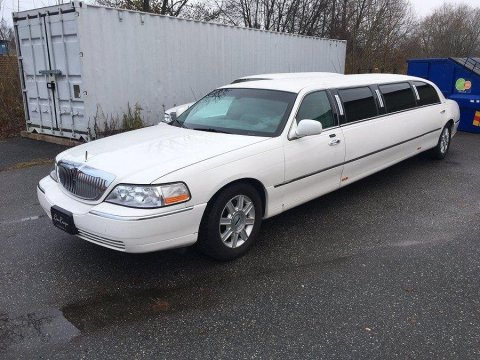Lincoln Town Car Limo Stretch Limousine -09