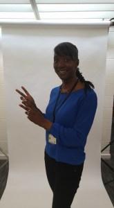 Dionne Thomas, organiser