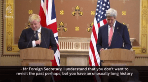 Screengrab from a Channel 4 News video on Facebook