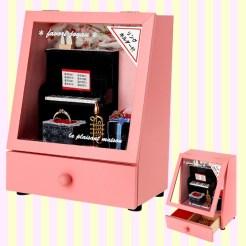 Dollhouse Piano Musical Jewelry Box 돌하우스 피아노 오르골보석함