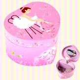 Mini Heart Ballerina Musical Jewelry Box 미니하트 발레리나 오르골 보석함