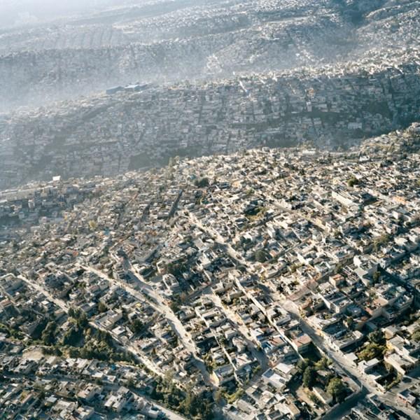 Vista-Aerea-de-la-Ciudad-de-Mexico,-XIII