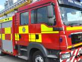 Emergency services called to extensive building fire in Wrangle