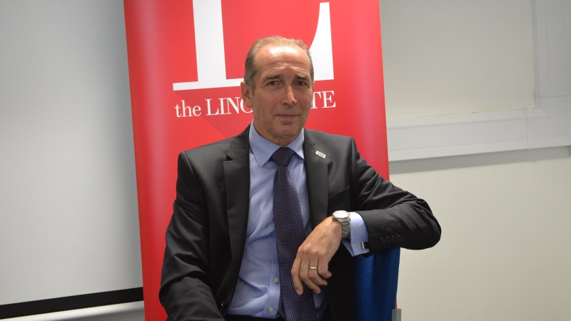 United Lincolnshire Hospitals NHS Trust CEO Jan Sobieraj