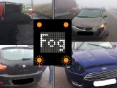 Humberside Police urge motorists to slow down in fog after spate of crashes on A180
