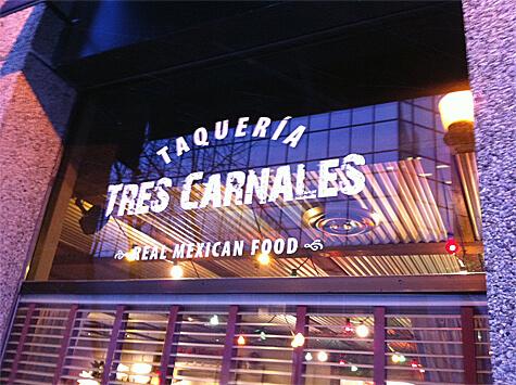 Tres Carnales Taqueria at 10119 100 A Street
