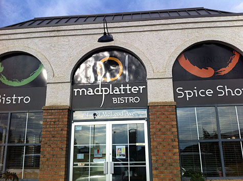 The Mad Platter Bistro at 20 McLeod Avenue, Spruce Grove.