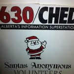 Taking part in the 5th Annual Wrapping Tweet Up for Santas Anonymous.