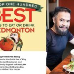 'Moustache Man' (my dad!) pictured in the Tomato Food & Drink Magazine's Top 100 List. (100th issue).