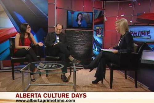 My first appearance on Alberta Primetime's Pop Culture Panel on Sept. 26, 2013.