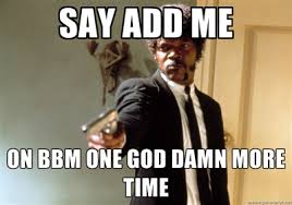 BBM app launches for iPhone. People go nuts.... why. lol