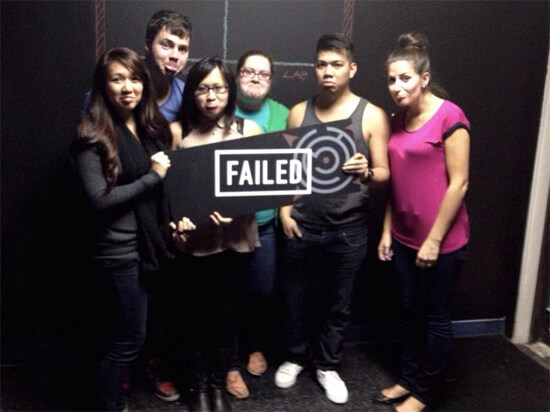 We tried... failed... but had so much fun doing the BreakOut Live Action Escape Game!