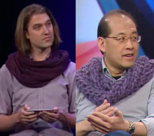 Scarf Guy vs. Marty Chan!