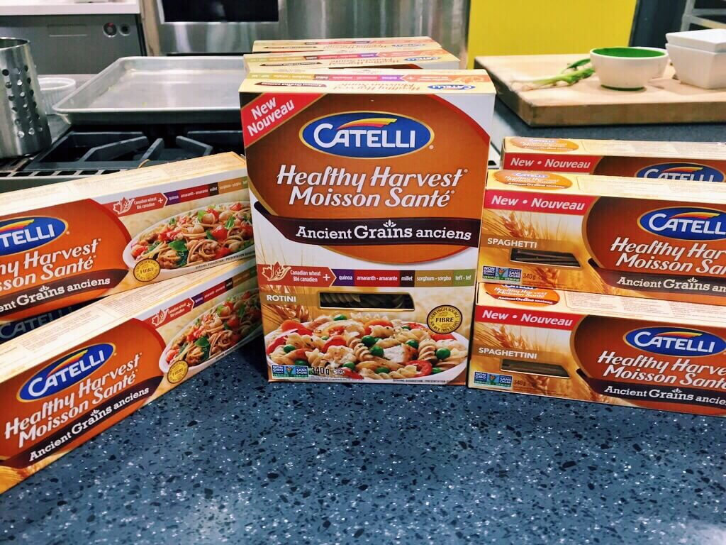 Cooking Catelli with Chef Lynn Crawford