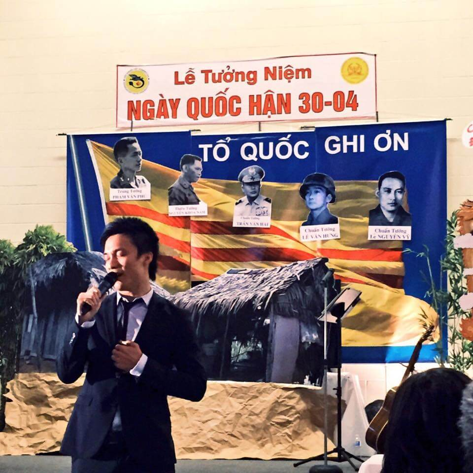 Le Tuong Neim Ngay Quoc Han April 30, 1975. Edmonton event held on April 24, 2015.