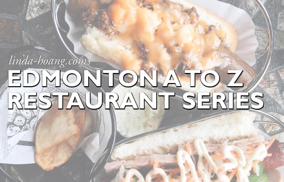 Edmonton A to Z Restaurant Series