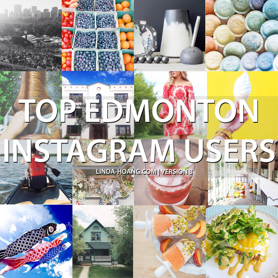 Social Media Spotlight: Top Edmonton Instagram Users to Follow (version 3)