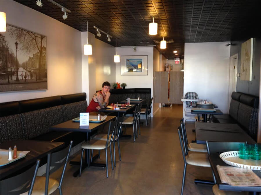 Inside LETS Grill at 5926 104 Street (Calgary Trail).
