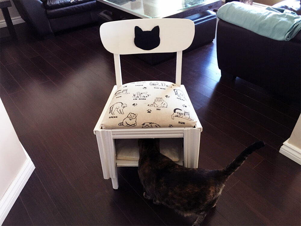Edmonton Fall Home Show: Ultimate Upcycle Challenge (Cat Bed Chair)