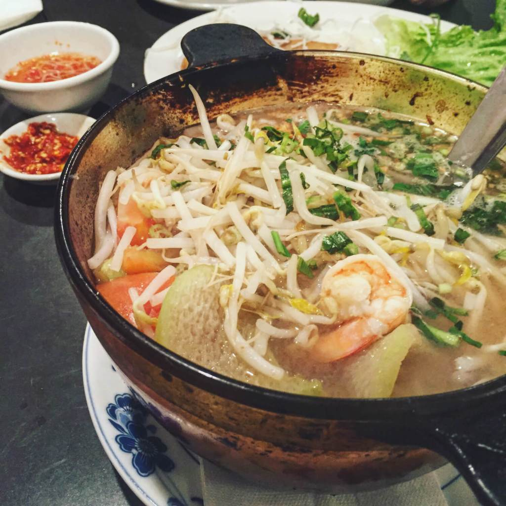 Hot and Sour Soup Phnom Phen Chinatown Vancouver