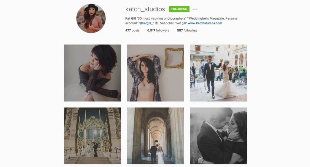 Top Edmonton Instagram Users - katch_studios - Social Media