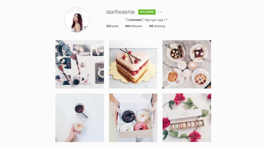 Top Edmonton Instagram Users - starfreaknie - Social Media