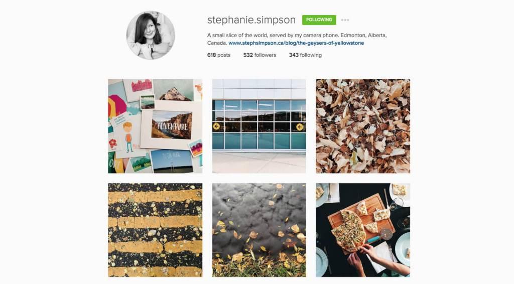 Top Edmonton Instagram Users - stephanie.simpson - Social Media