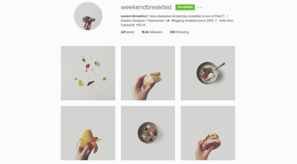 Top Edmonton Instagram Users - weekendbreakfast - Social Media